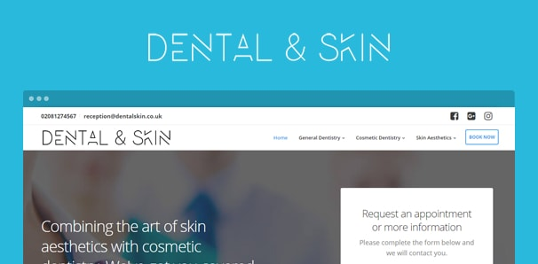 dental-and-skin-web--project