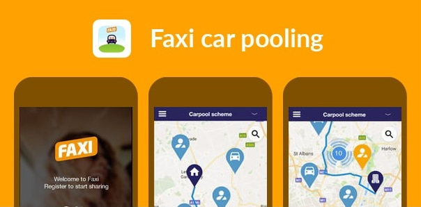 faxi-car-pooling-app